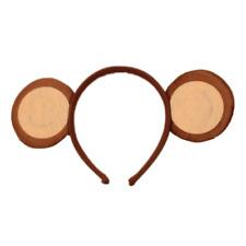Neuf Mignon Monkey Oreilles Serre-Tête Animal Zoo Déguisement Fête Accessoire