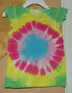 Matilda Jane Tie Dye Tank Top Girls Sz 4 NWOT
