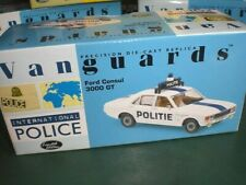 Vanguards 05508 - Ford Consul Police Antwerpen - 1:43 Made in China