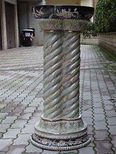 COLONNA 29 Kg ceramica lustro maiolica s CASTELLI GUALDO TADINO Sesto Fiorentino