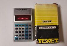 Texet 880 Executive Calculator,Vintage Calculators(bld)