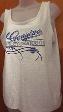 HARLEY-DAVIDSON tank top lrg Ohio motorcycles sleeveless tee Marietta Cycle OG