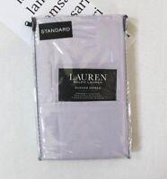 LAUREN Ralph Lauren Two Dunham Sateen Cotton Standard Pillowcases Hyacinth