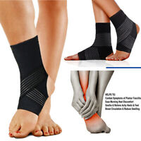 Ankle Sprain Brace Foot Support Bandage Achilles Tendon Strap Guard Protector SF