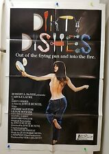 carole laure dirty dishes  27x41 orig movie poster