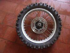 Suzuki 125 RM 1989 Roue Arriére Rear Wheel