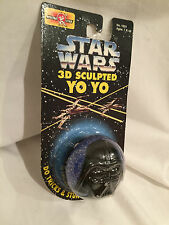 NEW STAR WARS 3D SCULPTED YO YO, Darth Vadar, 1995, FREE SHIPPING