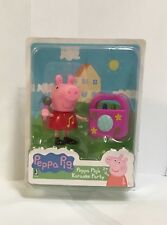 *BRAND NEW* PEPPA PIG'S KARAOKE PARTY W/ MICROPHONE & ACCESSORY AGES 2+