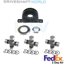 Rear Driveshaft Kit U-Joints & Centre Bearing for Nissan Titan (2WD) 2004-2006
