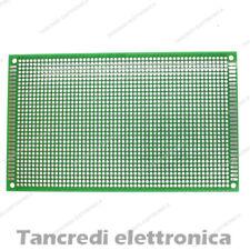Basetta Millefori 9x15 cm 90x150 Vetronite Doppia faccia Prototype pcb Board