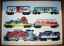 NEW COCA COLA CONTEMPORARY 6-UNIT DIESEL TRAIN SET O/027