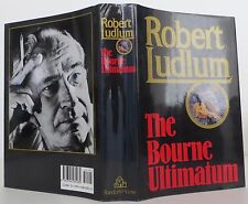 ROBERT LUDLUM The Bourne Ultimatum INSCRIBED FIRST EDITION