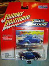 JOHNNY LIGHTNING WILLYS GASSERS 1941 WILLYS Gary & Susan Wright 1/64 new in pkg