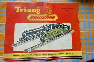 Vintage Triang Railways oo Catalogue 3rd edition