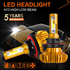 H13 9008 COB LED Headlight Conversion Kit 1150W 172500LM Hi/Lo Bulbs 6000K OSRAM