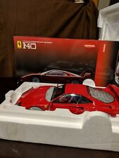 Kyosho Ferrari F40 Red 1:12 Diecast Model 08602A Complete In Box