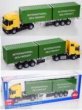 Siku Super 3921 Mercedes-Benz Actros LH 2048 LKW & Container INTERNATIONAL 1:50
