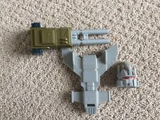 TRANSFORMERS G1 ONSLAUGHT, COMBATICONS, BRUTICUS, CANNON, HEAD, CHEST PIECE
