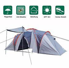 Familienzelt Zelt 4-6 Personen Kuppelzelt Tunnelzelt Campingzelt Sonnenschutz