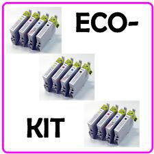 KIT 8 CARTUCCE COMPATIBILI PER EPSON CX3650 CX6400 CX6600 - NO OEM