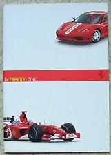 LA FERRARI History Formula One Sales Brochure 2003 #95992913 MODENA Spider 575M+