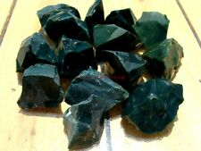 Natural EVERGREEN JASPER - 1000 CARAT Lots - Rough Rock, Nice Dark Green Color