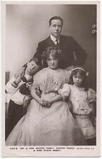 POSTCARD ACTORS  George Robey  &  Family