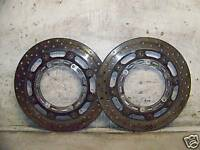 03 Yamaha R1 R-1 R 1 YZF R1 Front brake Rotors Discs