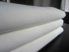 "FRETTE Crisp White Fiandra Rectangular Tablecloth, 83"" x 114"" Refreshing & NEW!"