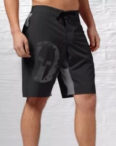 New Mens Reebok Crossfit CF Spartan Mud Shorts Z93721 Black Board XXL 40W