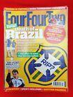FOURFOURTWO #205 JUL 2011 ~ DEATH OF BRAZIL ~ VIDIC ~ SCOLARI ~ SCOTT PARKER