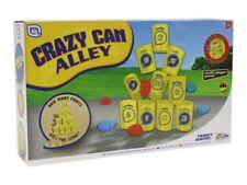 Pazzo Tin Can Alley Polo Fieristico Target che Lancia Abilità Gioco da Giardino