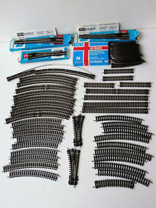 Collection of N Gauge Peco Streamline Track & Points, Some New & Boxed