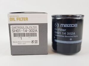 New Genuine Mazda 3 6 CX-3 CX-5 Oil Filter Skyactiv Diesel MX5 Petrol SH0114302A