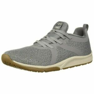 Ryka Knit Slip-on Sneakers Walking Shoes - Fizz 2 Frost Grey 6 W