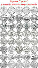 41 PICTURED ROCKS 2010-2018 CUARTO DOLAR PARQUES USA P D S ALL QUARTERS DOLLAR
