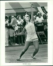 1970's Rosemary Casals Tennis Professional Original Press Photo