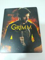 GRIMM Quinta Temporada 5 Completa Steelbook - 4 X BLU-RAY Español Ingles