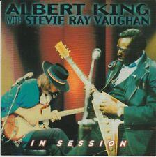 ALBERT KING & STEVIE RAY VAUGHAN IN SESSION CD NEW