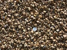 FREE SHIPPING 1 kg Fish Aquarium Water Chocolate Brown Gravel Stone Pebbles Chip