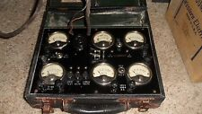 Vintage Sterling Home Radio And  Tube Tester