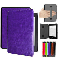 For Amazon Kindle Paperwhite 10th Gen 2018 Case PU Leather Auto Wake/Sleep Cover