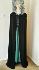 MEDIEVAL CHRISTMAS PARTY WITCH VAMPIRE TWILIGHT PRINCESS HOODED CLOAK CAPE 14-16