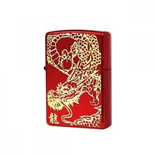 ZIPPO Lighter RED DRAGON G IonRed Gold design by Japan Best Buy Gift F/S