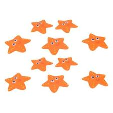 10x Starfish Shower Bathtub Non-slip Safety Stickers Adhesive Applique Tapes