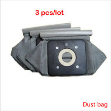 3x vacuum cleaner cloth bags 11x10cm fit for Philips Electrolux LG Haier Samsung