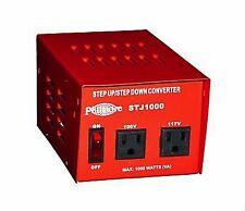 New Philmore STJ1000 Japanese Use 1000 watt 100/117 Step Up/Down Transformer