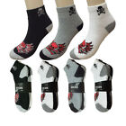 New Lot 3 6 12 Pairs Mens Ankle Quarter Crew Socks Sport Cotton Assorted Styles