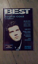 BEST N° 278 / SEPTEMBRE 1991 / LLOYD COLE / REM / TOM PETTY