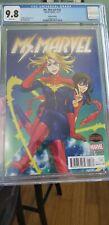 Ms. Marvel #18 CGC 9.8 KAMALA KHAN DANVERS Captain Marvel MANGA Variant HTF Rare